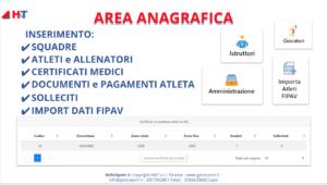 Area Anagrafica Pallavolo - GeSoSport